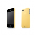 Capdase Karapace Protective Case Sove Yellow for iPhone 4, 4S (KPIH4-S30E)